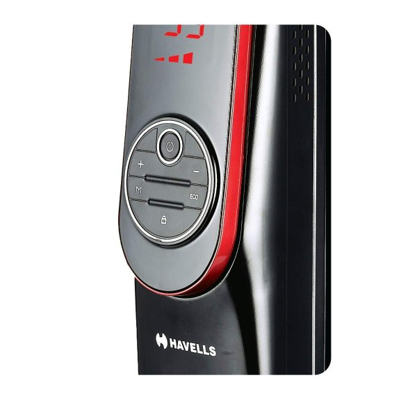 Havells Digital OFR 11 Wave Fin 2500 watt (Black)