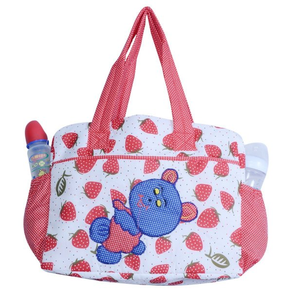 Cloth Bag Cherry Printed DBB14 Red P4