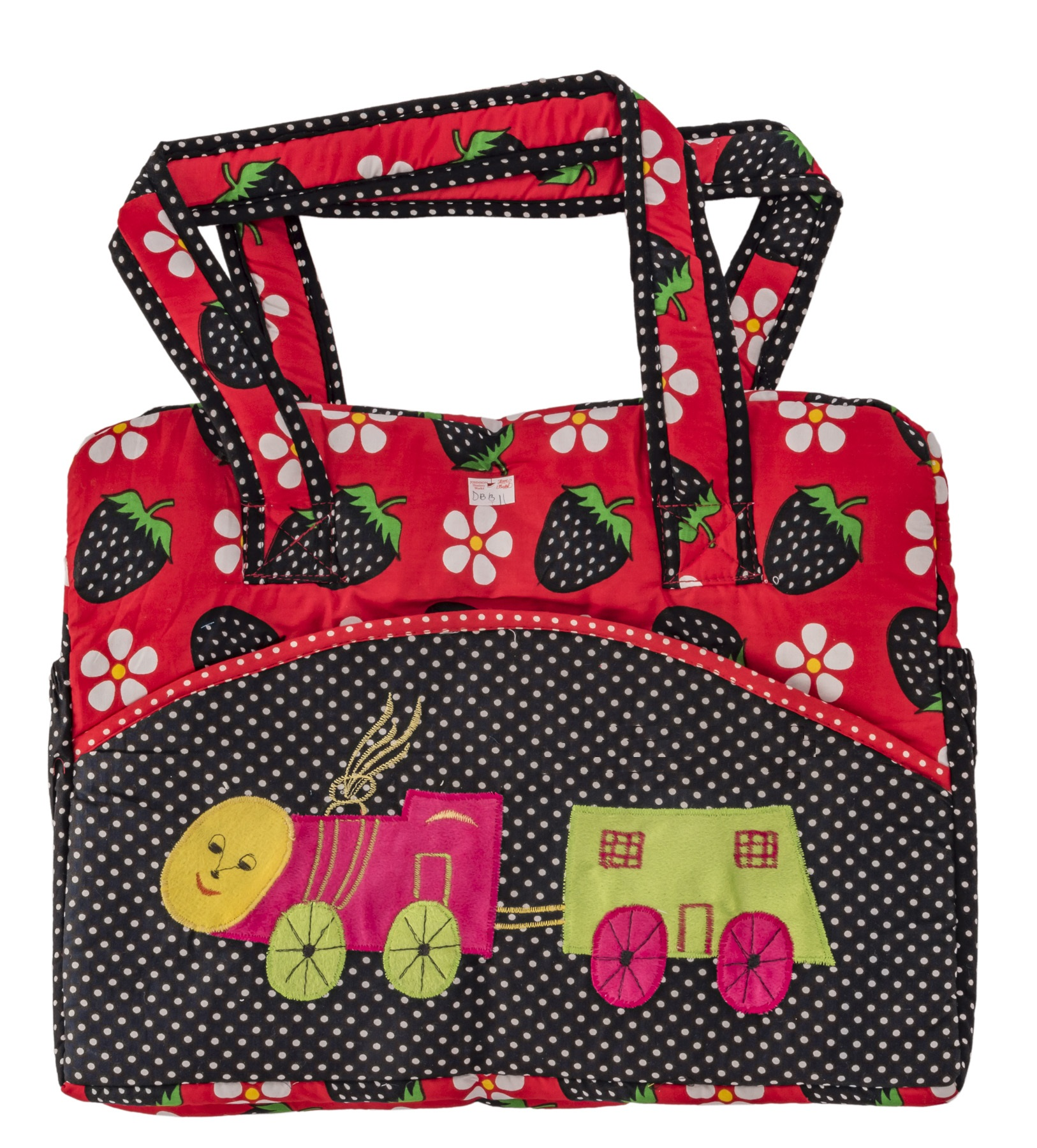 Cloth Bag Cherry Printed from Love Baby DBB11 Red P1