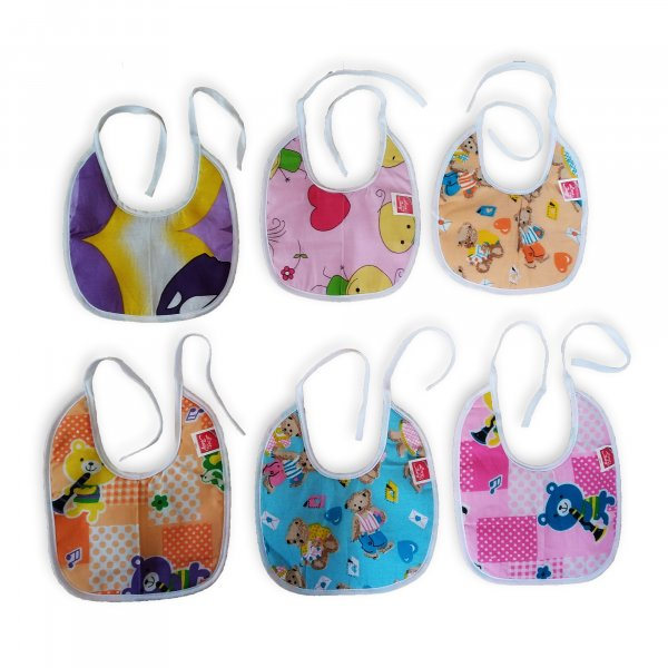 Cotton Assorted Printed Bibs Cloth from Love Baby