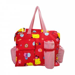Diaper bag Red  - DBB22 Red P2