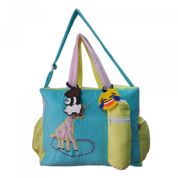 Giraffe Cloth Bag from Love Baby DBB06 Blue P2