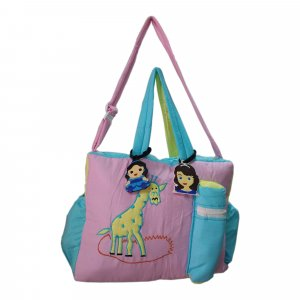 Giraffe Cloth Bag from Love Baby DBB06 Pink P2