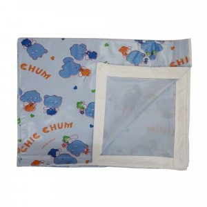 Imported Soft Bedsheet Plastic from Love Baby 613 B Blue P2
