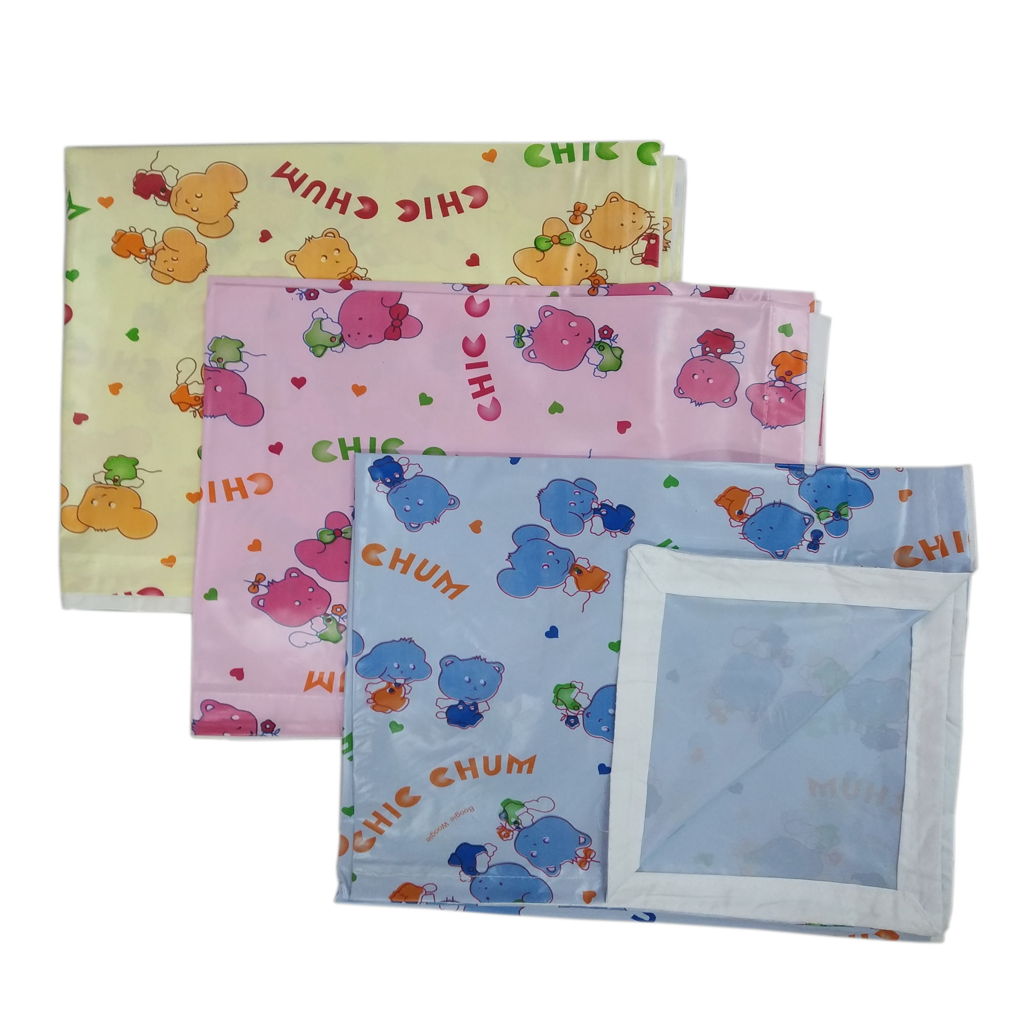 Imported Soft Bedsheet Plastic from Love Baby 613 B Combo P2