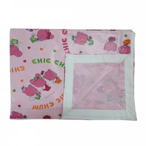 Imported Soft Bedsheet Plastic from Love Baby 613 B Pink P2
