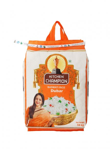 KITCHEN CHAMPION DUBAR RICE 10KG