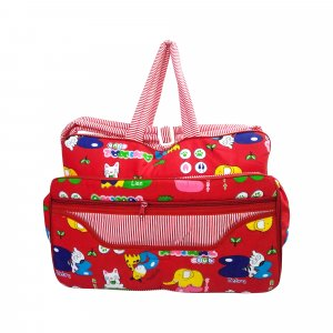 Love Baby Cloth Bag Multi-Utility Wire Bag - DBB18 Red P3