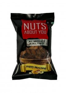 N.A.Y ALMONDS ROASTED & SALTED 100 G