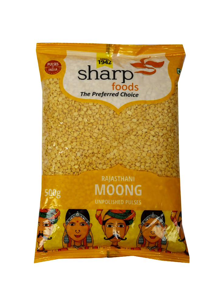 SHARP MOONG DHULI 500G