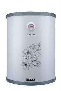 Usha Misty 15 LTR 2000-Watt 5 Star Storage Water Heater (Grey Magnolia)